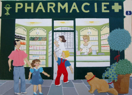Allons à la pharmacie