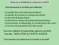 Défendre la Pharmacie, tous mobilisés