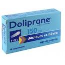 Doliprane 150mg Suppositoires